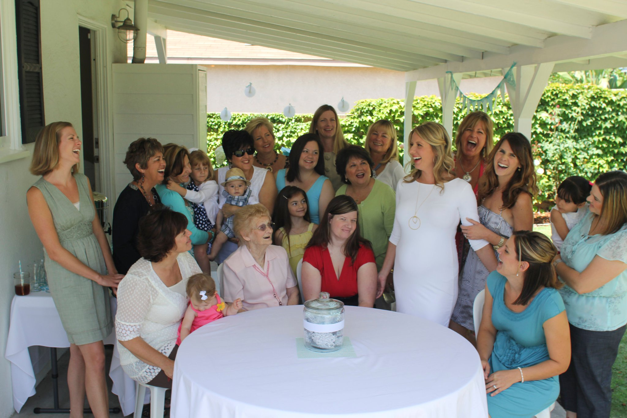 7 Ways You Know it's Not Your First Baby Shower SheJustGlows.com