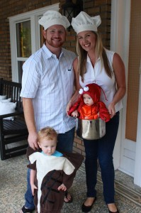 shejustglowscom surf turf family halloween costumes - Baby And Family Halloween Costumes
