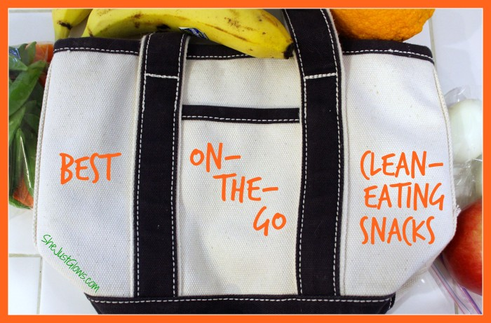 Best On-The-Go Clean Eating Snacks SheJustGlows.com