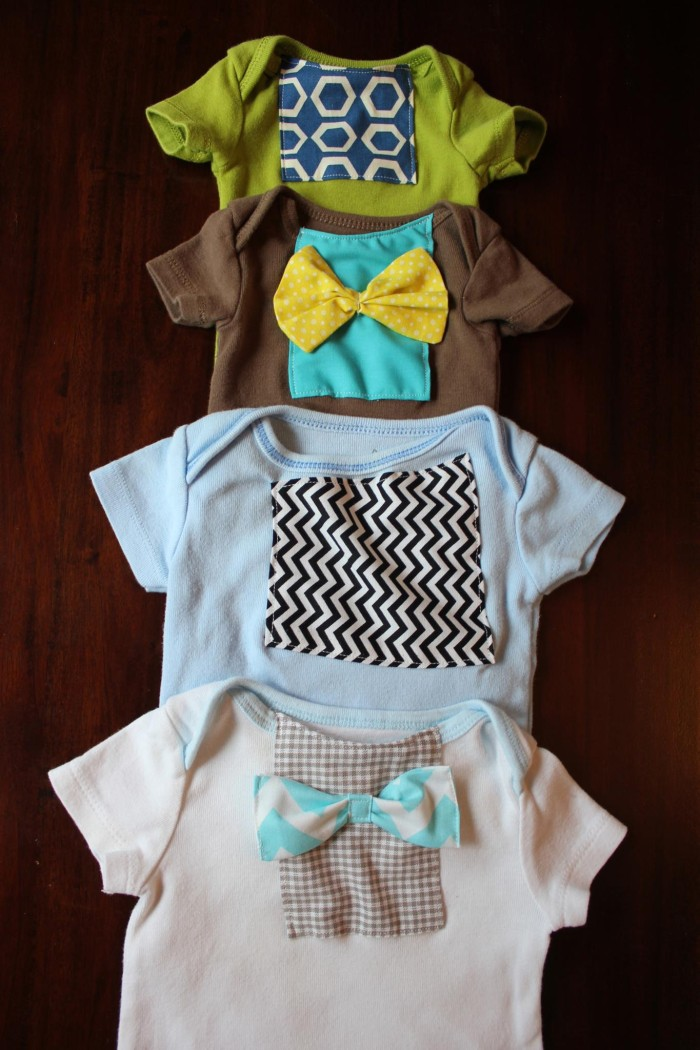 DIY Upcycle Old, Stained, Tacky Onesies