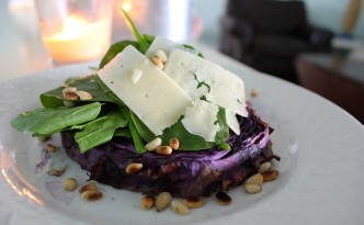 Super Sexy Roasted Red Cabbage Salad SheJustGlows.com