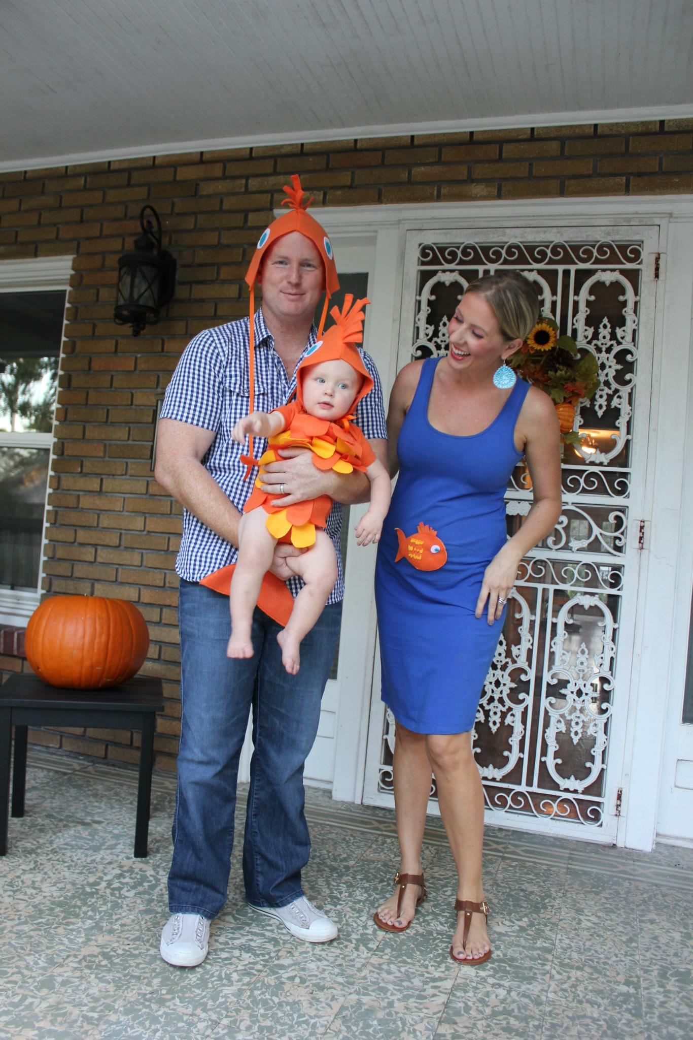 Family Fish Halloween Costume Idea SheJustGlows.com
