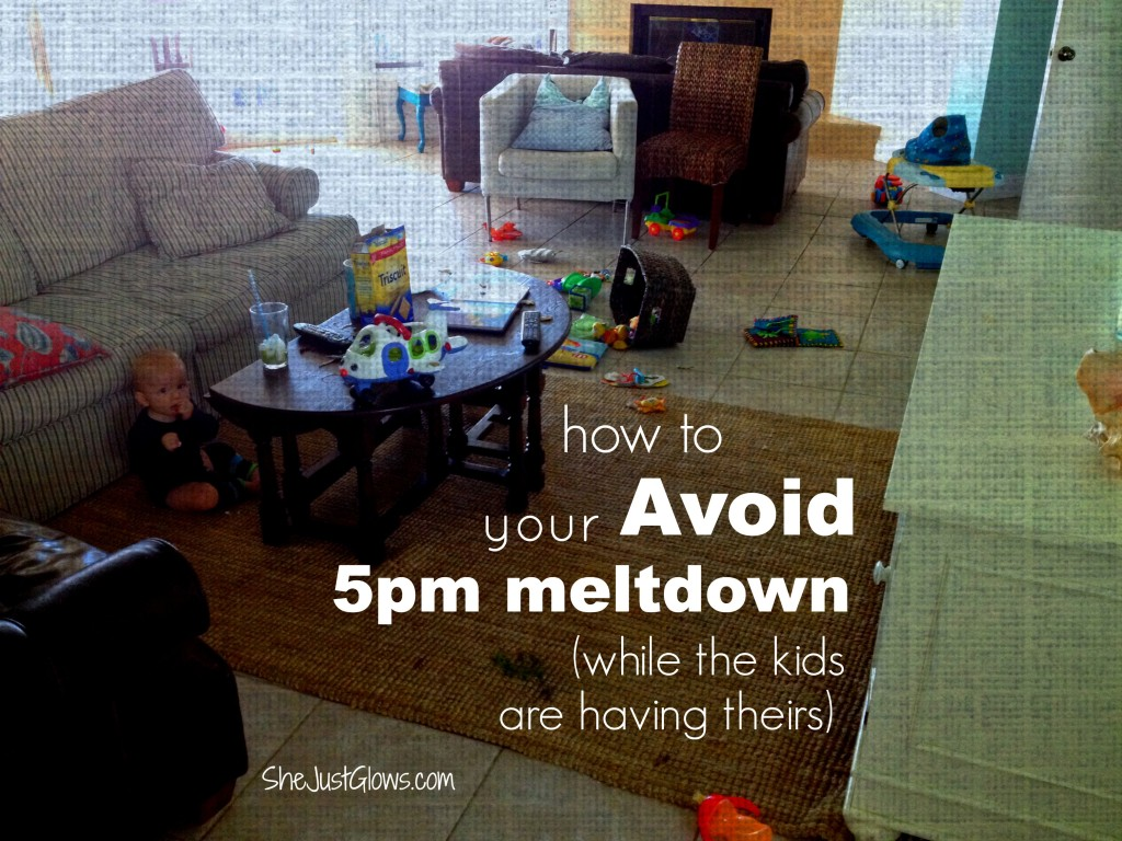 How to Avoid Your 5pm Meltdown SheJustGlows.com