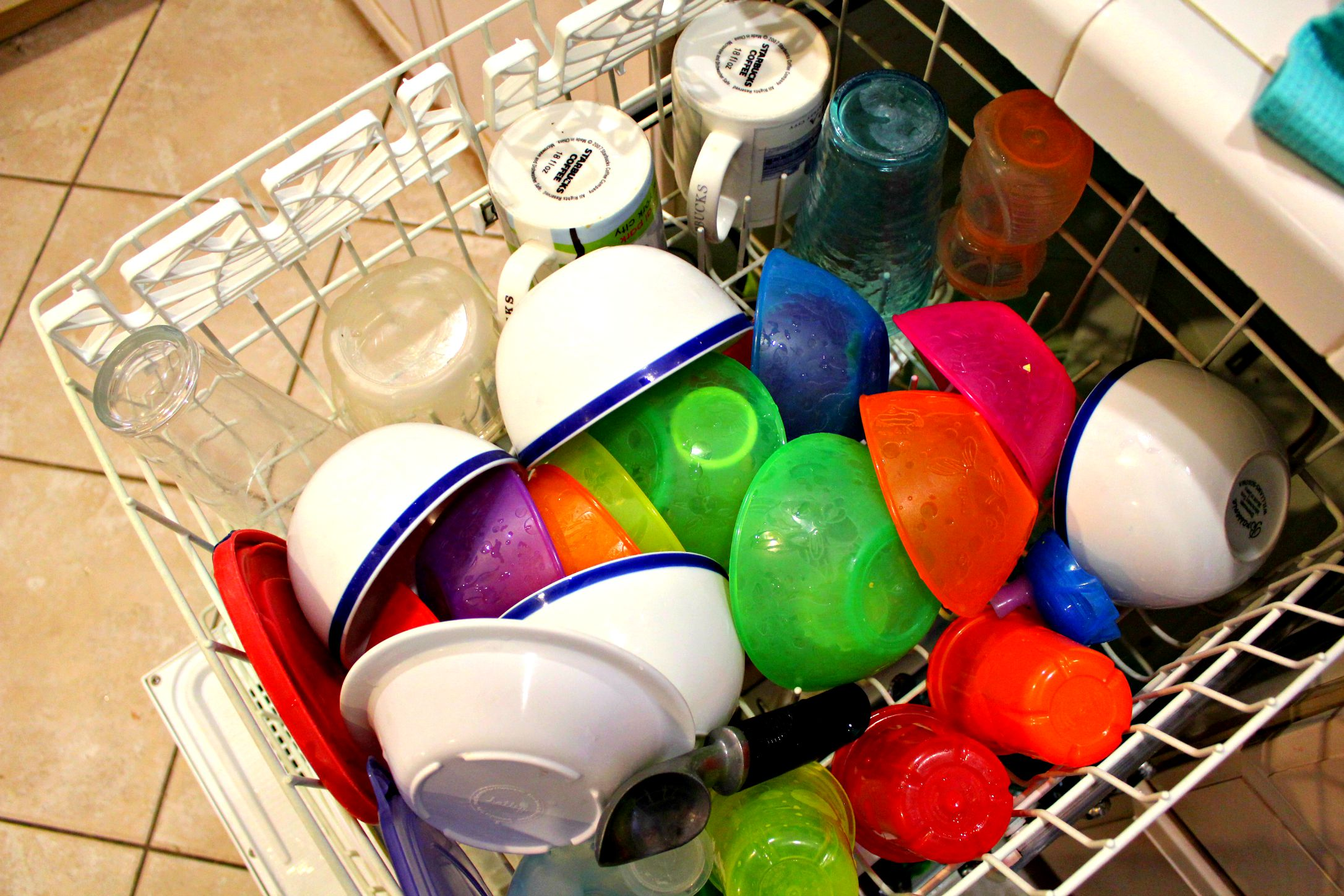 How Our Dishwasher's Life Has Changed Since Kids