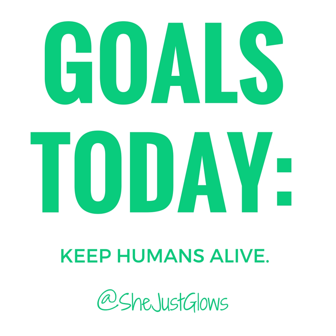 I Keep Humans Alive SheJustGlows.com