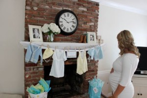 Vintage Boy Baby Shower SheJustGlows.com