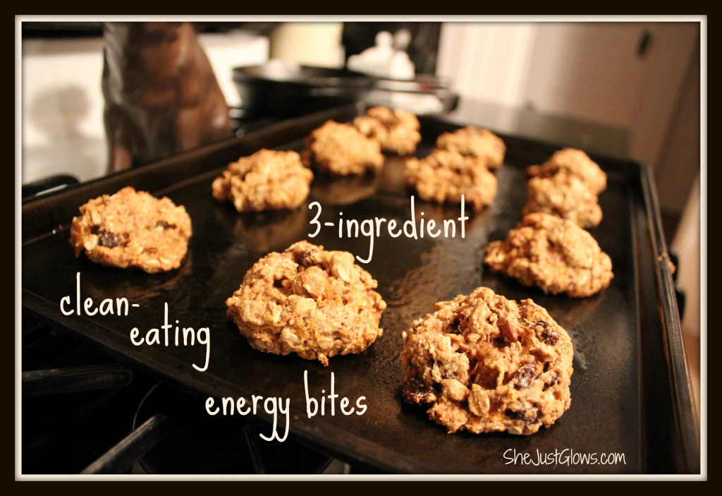 3-Ingredient Clean-Eating Energy Bites Without Peanut Butter SheJustGlows.com
