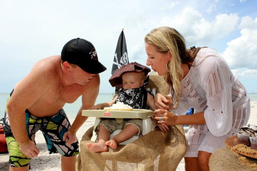 Shipwrecked Pirate Birthday Party SheJustGlows.com