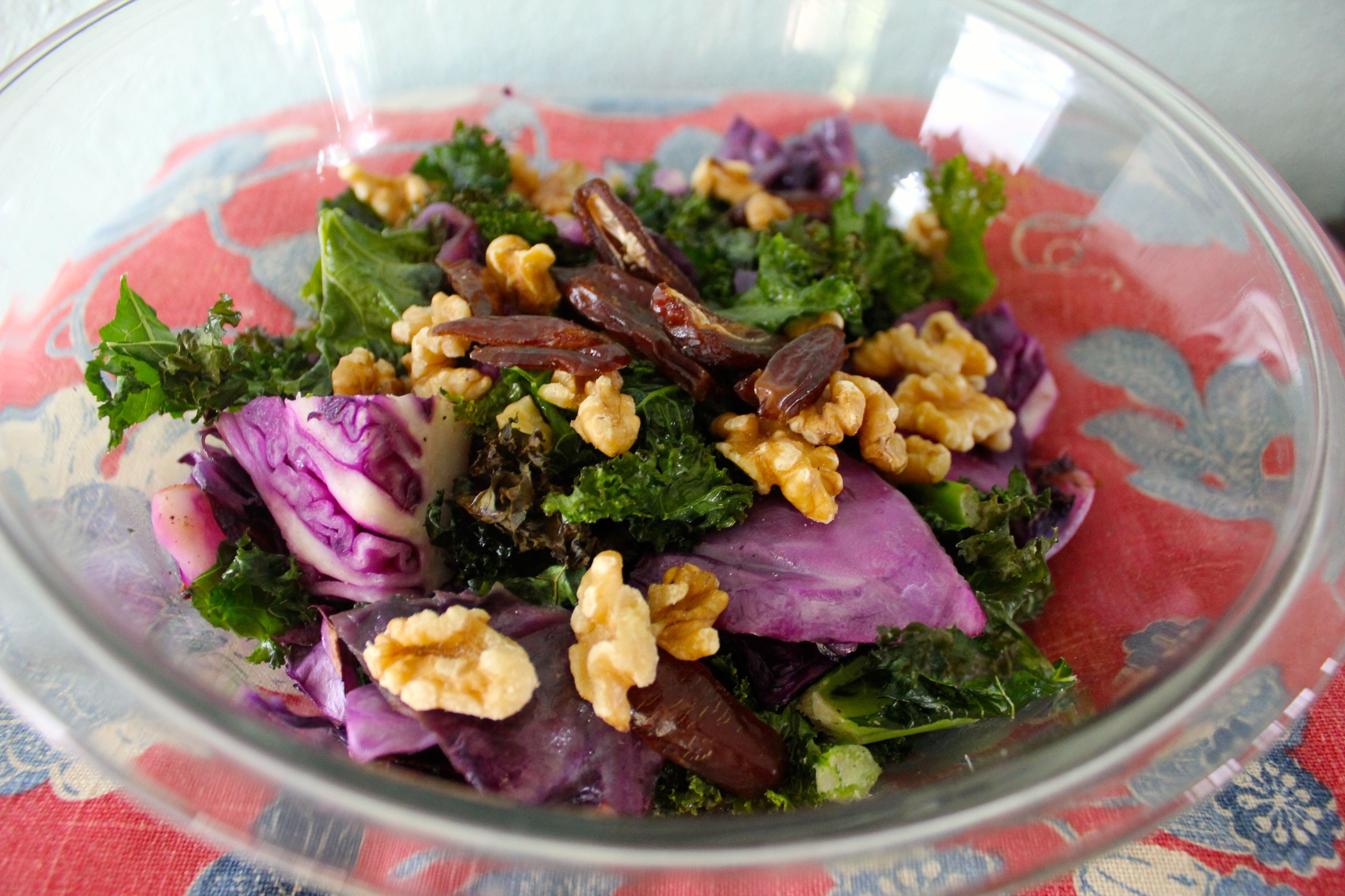 Love Your Greens Roasted Cabbage Salad SheJustGlows.com