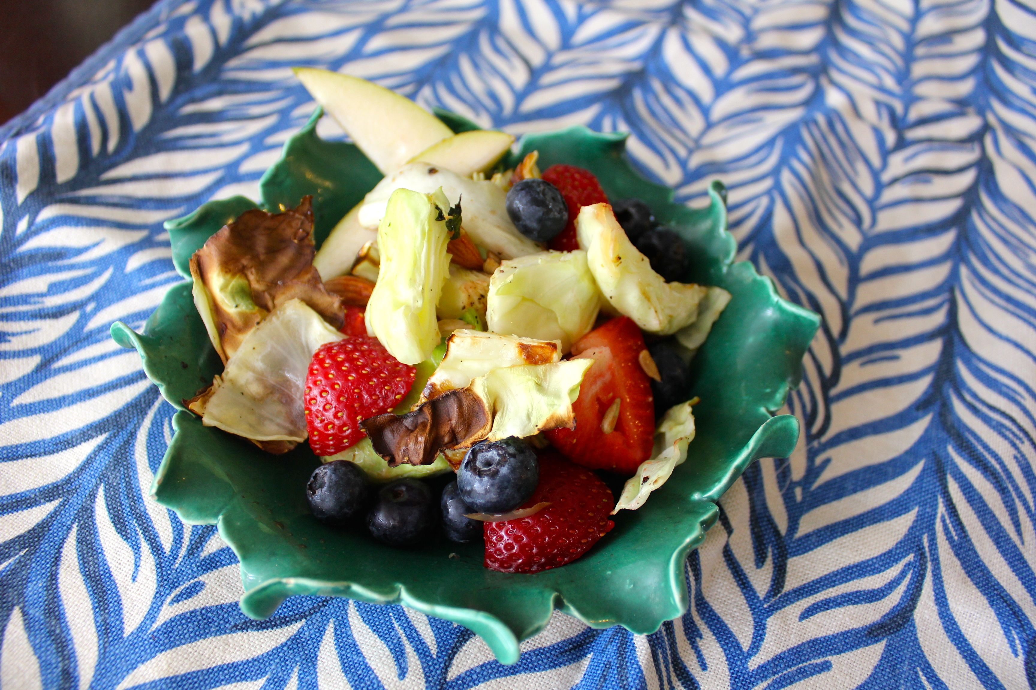 Sweet Summer Cabbage Salad SheJustGlows.com