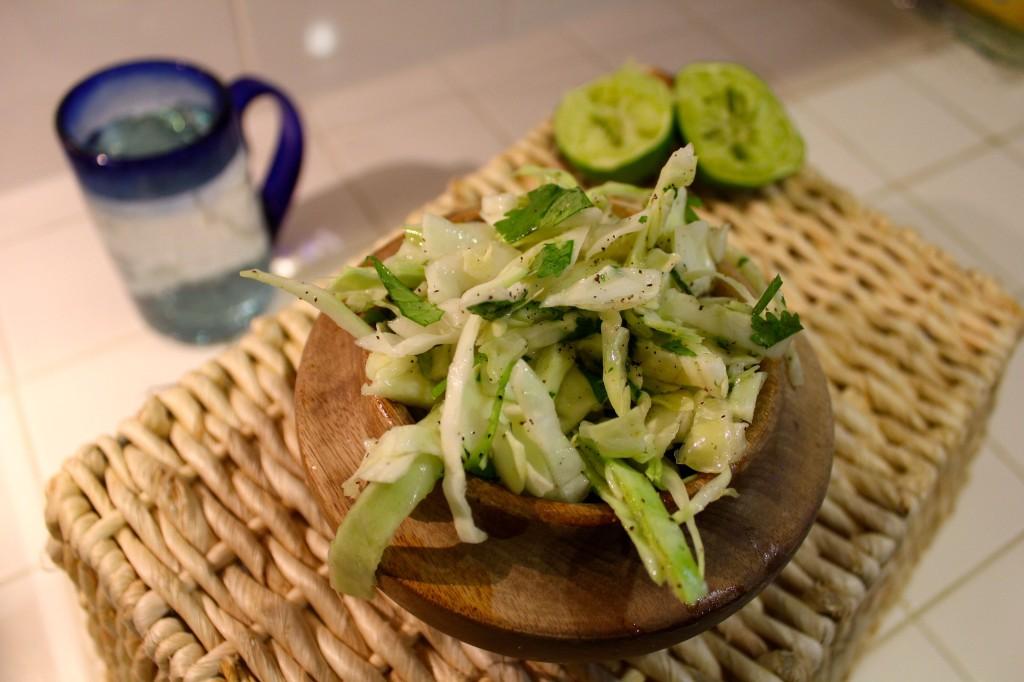 4-Ingredient Clean-Eating Mexican coleslaw