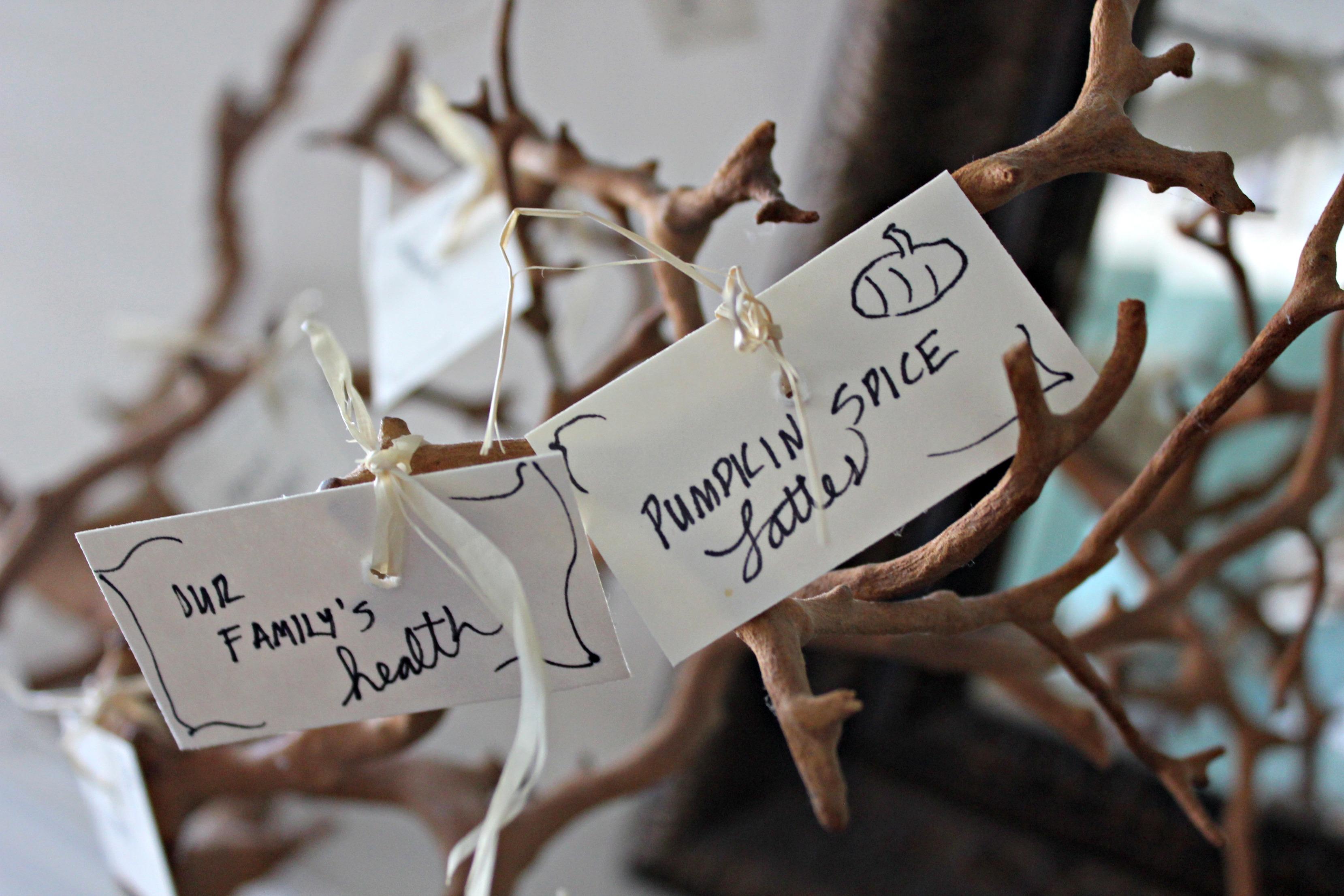 DIY Gratitude Tree Tutorial SheJustGlows.com