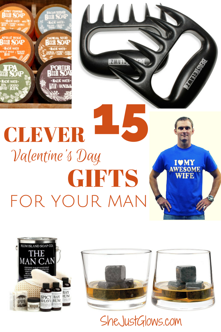 Valentine's Day Gift Guide: 15 Clever Gifts For Your Man SheJustGlows.com