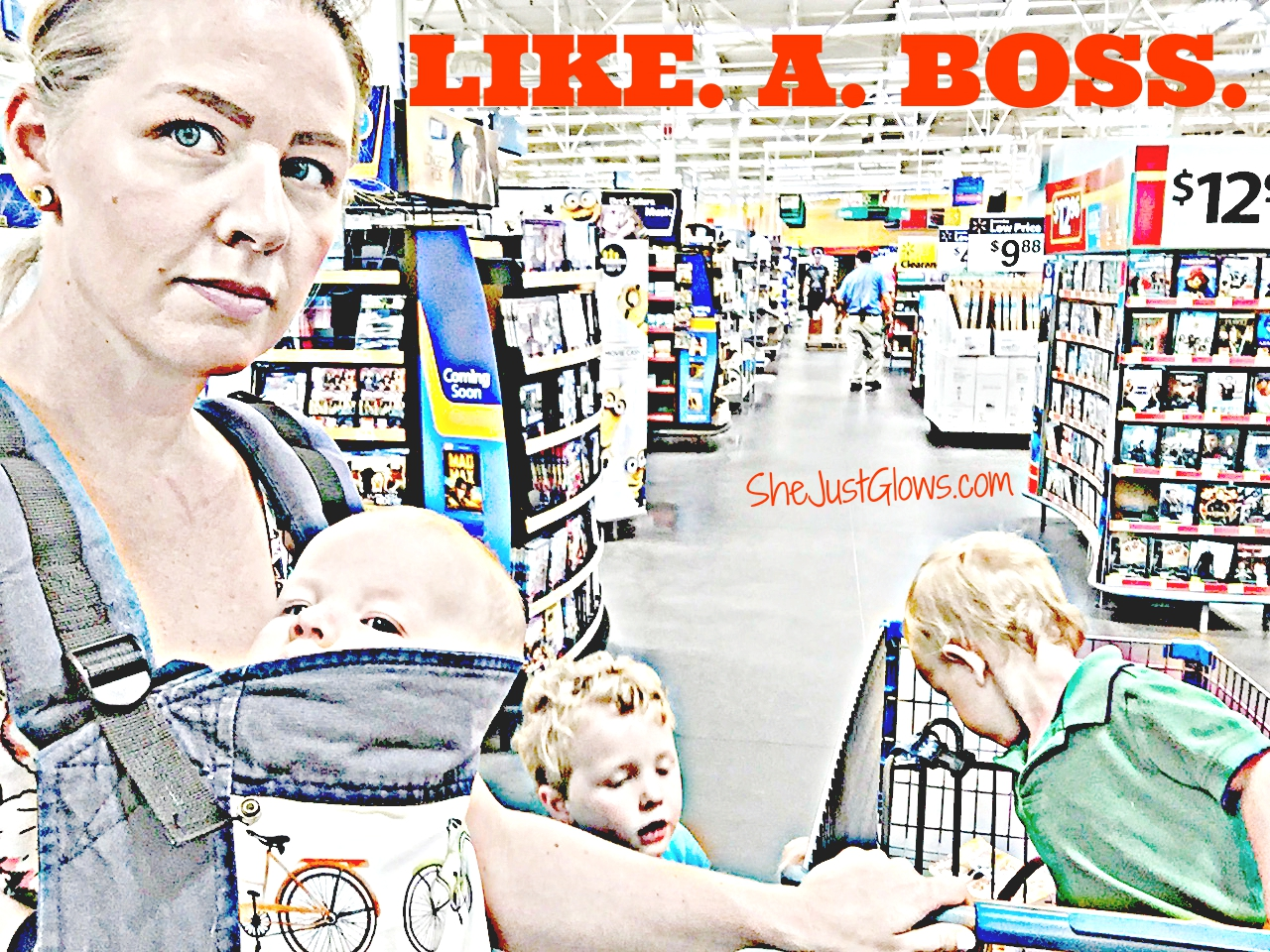 How to Survive a Grocery Trip With Kids in 39 Easy Steps SheJustGlows.com