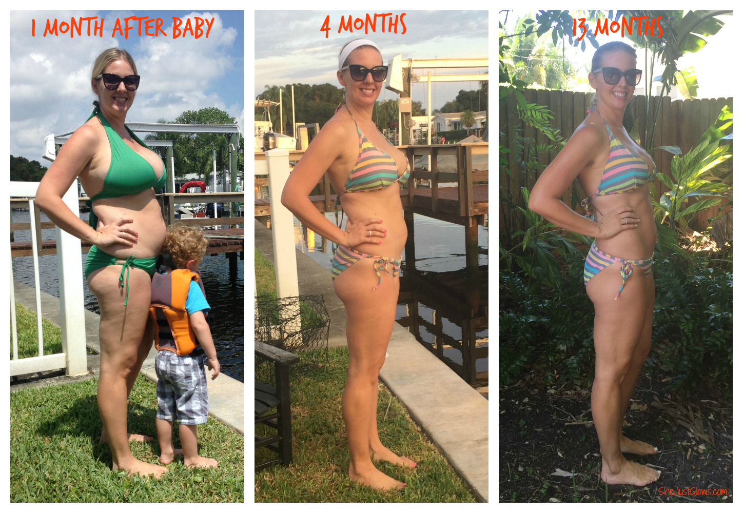 A Real Picture of Post-Pregnancy: 13 Months SheJustGlows.com