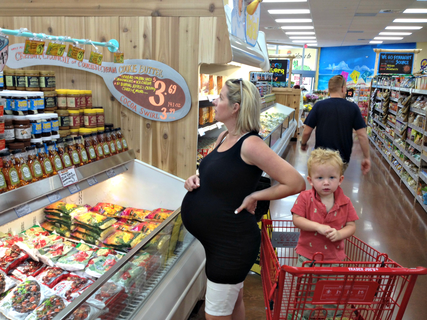 A Real Picture of Pregnancy: 40 Weeks SheJustGlows.com