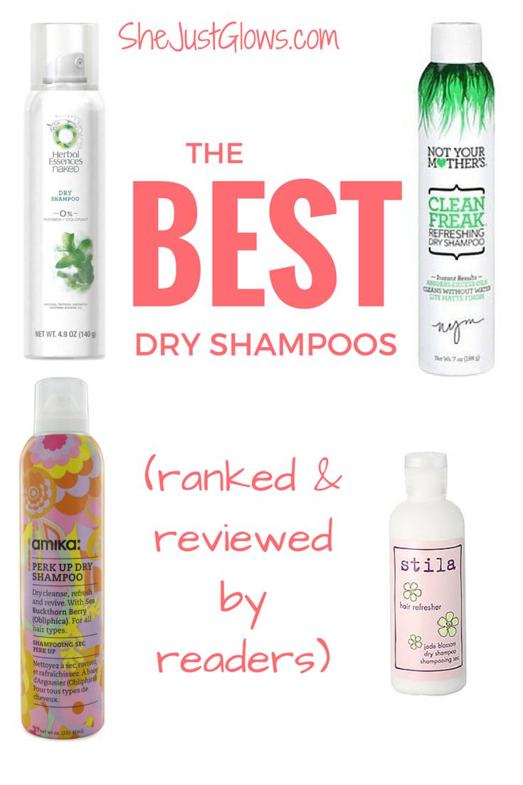 The Best Dry Shampoos SheJustGlows.com